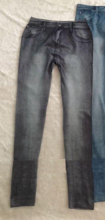 jegging noir imitation jean