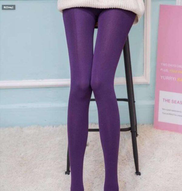 legging violet collant sans pied